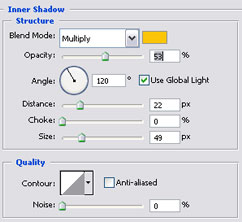 Inner Shadow - unutrašnja sjena