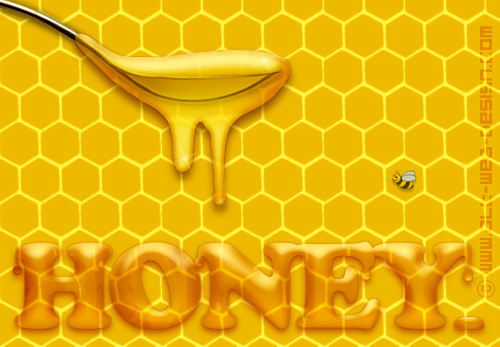 Honey Texture - applied texture